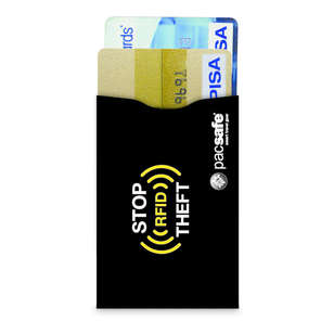 Pacsafe RFIDsleeve 25 RFID-Blocking Credit Card Sleeve 2 Pack