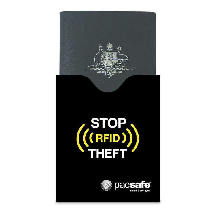 Pacsafe RFIDsleeve 50 RFID-Blocking Passport Protector