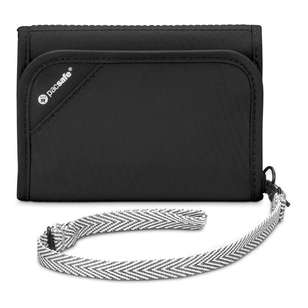 Pacsafe RFIDsafe V125 Anti-Theft RFID-Blocking Tri-Fold Wallet