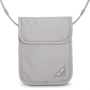 Pacsafe Coversafe X75 Anti-Theft RFID-Blocking Neck Pouch Grey