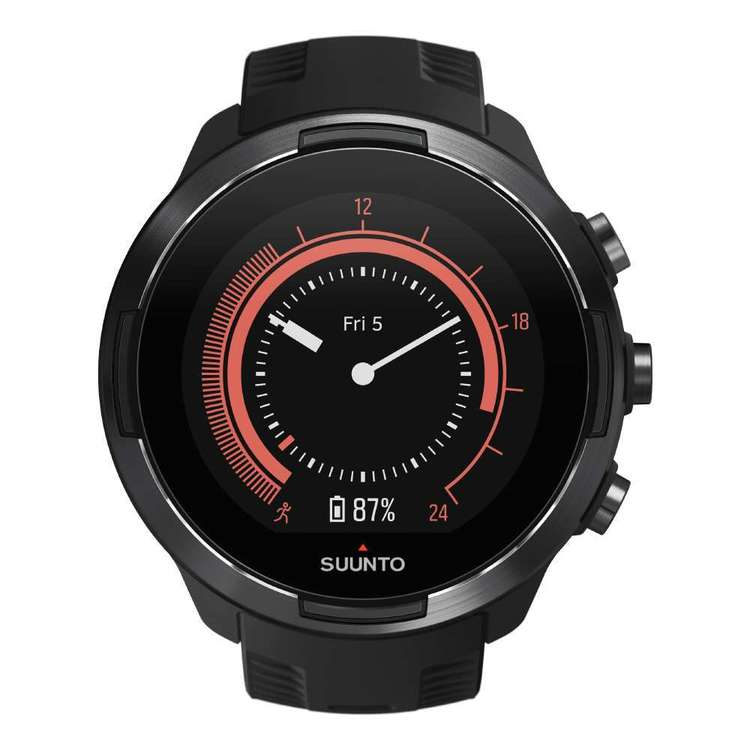 Suunto 9 Baro Stainless Steel Watch Black