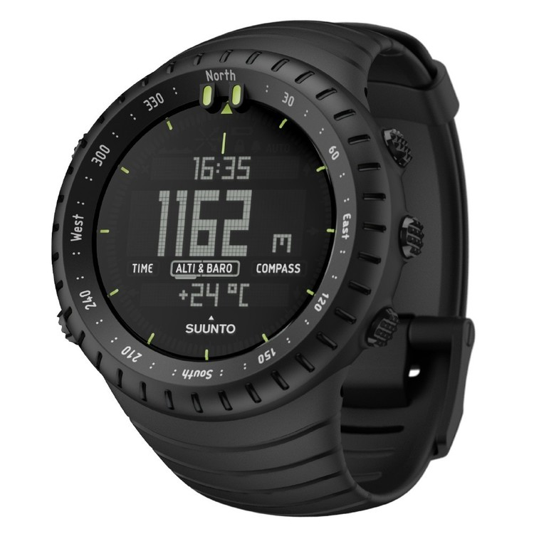 Suunto Core Black Aluminium Watch All Black