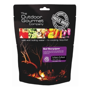 The Outdoor Gourmet Company Beef Bourguignon Double Serve