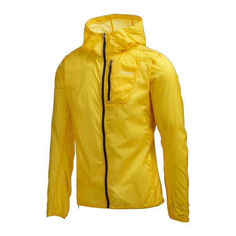 Men's Barrier Hooded Jacket Yellow