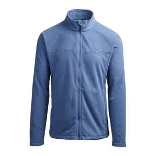 Men's Bruck Full Zip Fleece Jacket Blue
