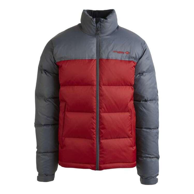 Men's Resurge 700 Goose Down Jacket Iron & Red