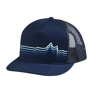 Contour Unisex 5 Panel Navy Trucker Cap