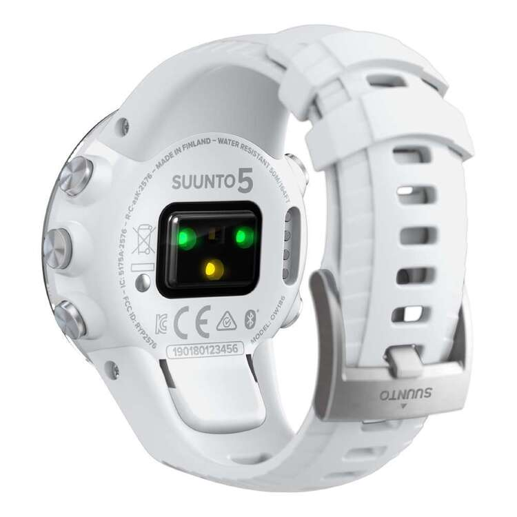 Suunto 5 White G1 Watch White