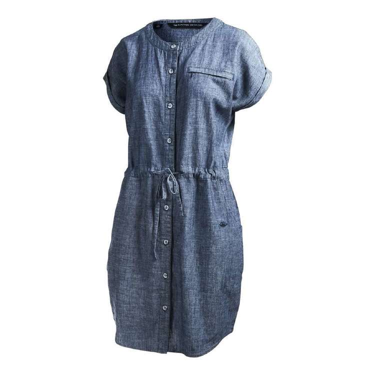 Women's Yalong Dress Denim Blue