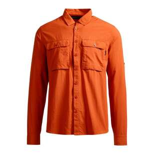 Men's Ormiston II Long Sleeve Shirt Brick