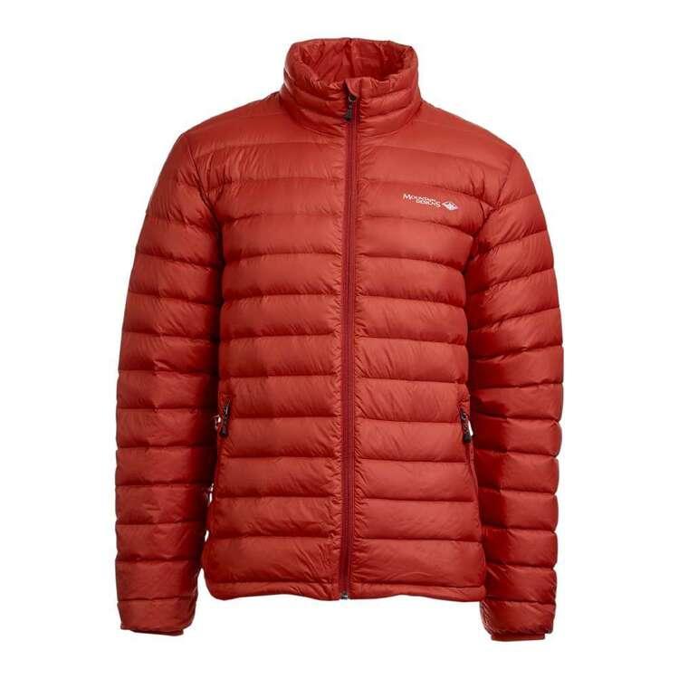 Men's Advance 600 Duck Down Jacket Rust