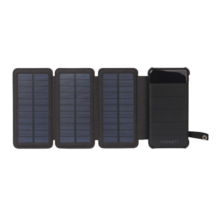 Cygnett ChargeUp Explorer 8K Power Bank with Solar Panels