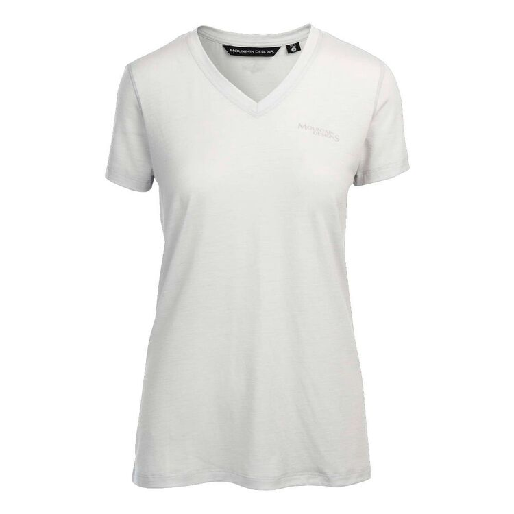 Mountain Designs Women's Corespun V Neck Tee