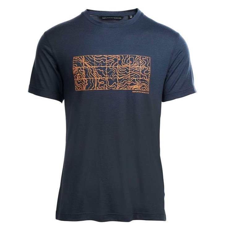 Men's Corespun Tee Blue Nights