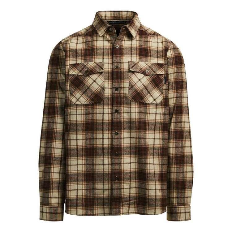 Men's Robinson Long Sleeve Shirt Brown