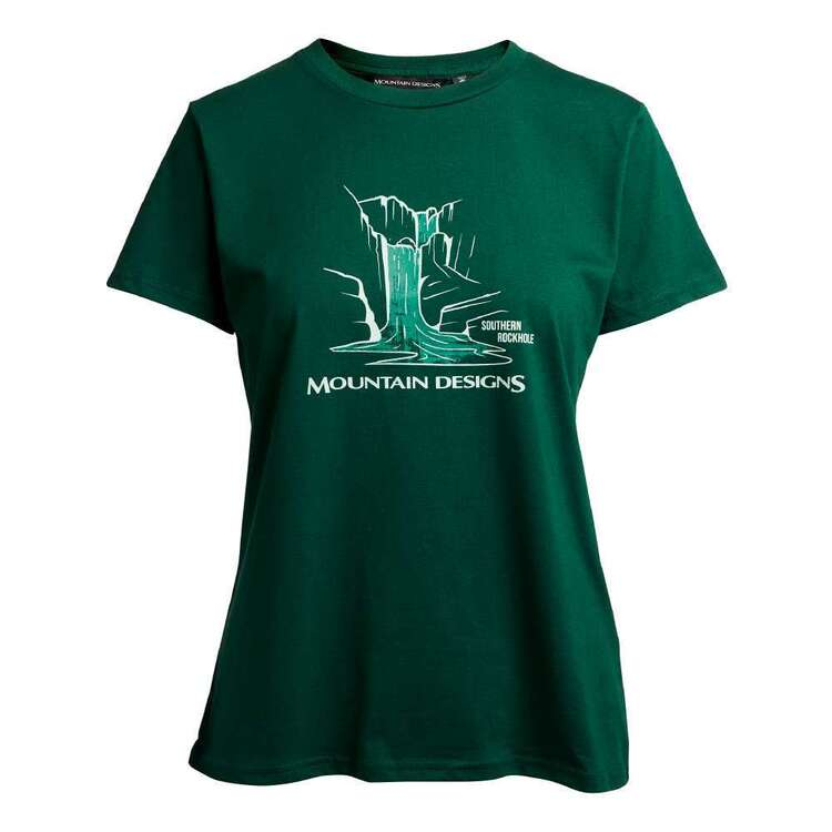 Women's Terrain Tee Bottle Green