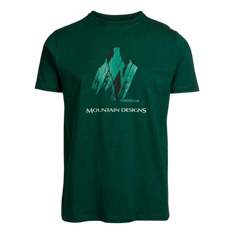 Men's Terrain Tee Bottle Green