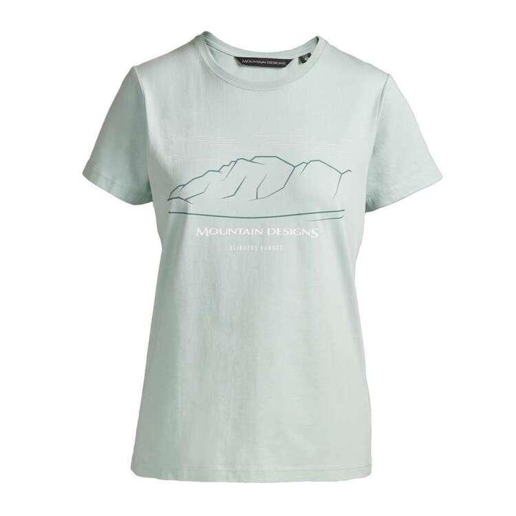 Women's Terrain Tee Harbour Grey