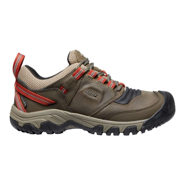 KEEN Men's Ridge Flex Waterproof Wide Shoes