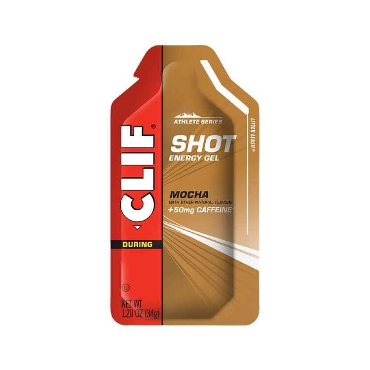 Clif SHOT Energy Gel Caffeine Mocha