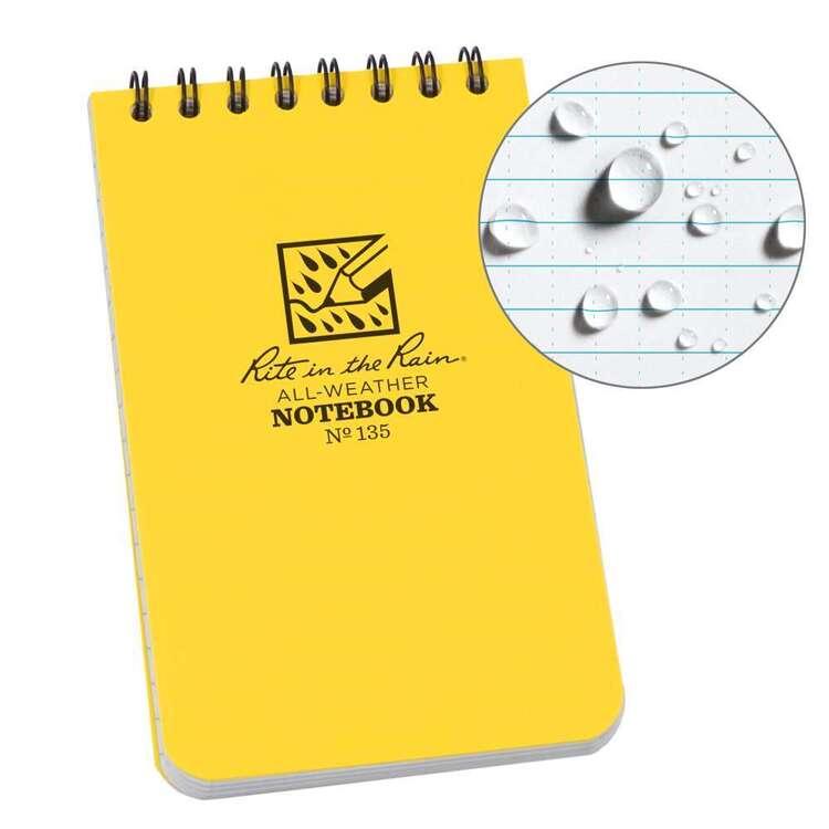 Rite In The Rain Top Spiral Notebook 3x5
