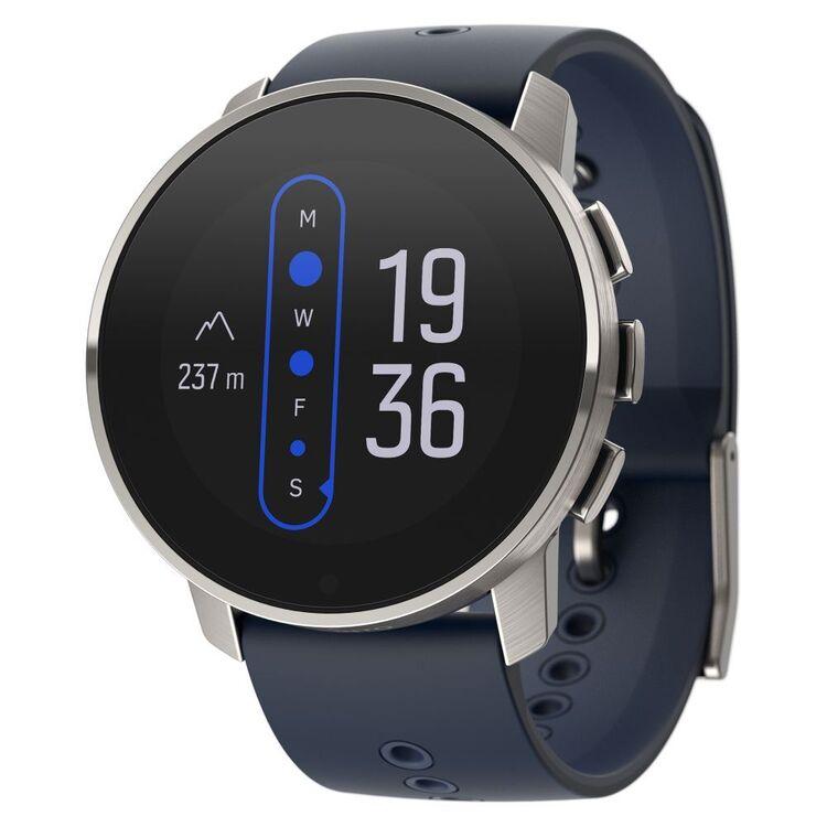 Suunto 9 Peak Titanium Watch Blue Granite