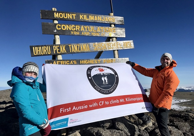 Conquering Kilimanjaro For Cystic Fibrosis - Part 2