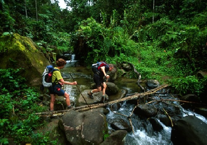 Hiking the Kokoda Trail