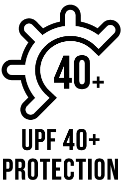 UPF 40+ Protection