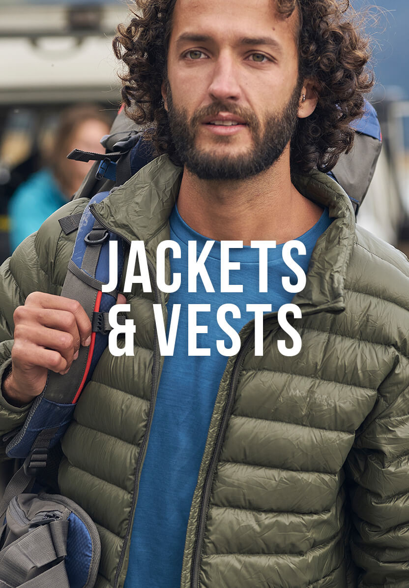 Shop Our Men's Jackets & Vests Range