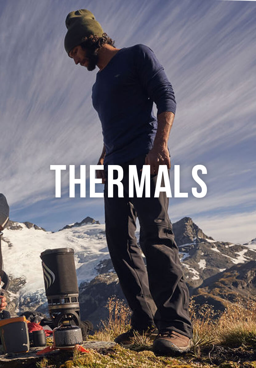 Shop Our Men's Thermals Range