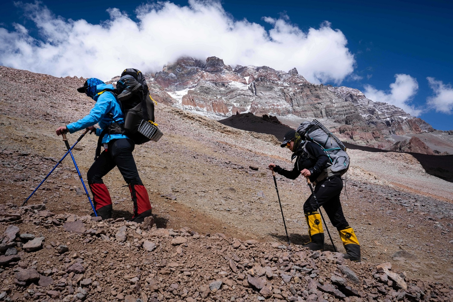 The Pioneer Proved To Be As Rugged As The Aconcagua Landscape We Trekked