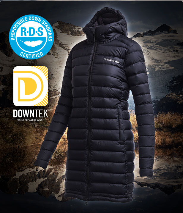 Women's Zephyr 750 Longline Down Jacket